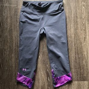 Under Armour Grey Cropped Leggings.